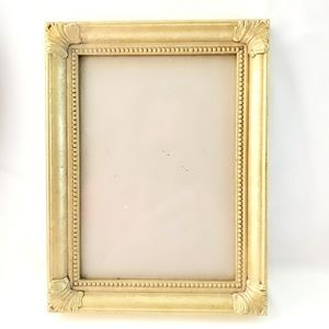 Vintage Victorian Style Gilded Wooden Photo Frame